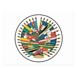Organization of American States Postcard