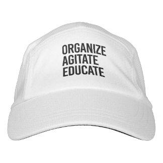 ORGANIZE AGITATE EDUCATE - HEADSWEATS HAT
