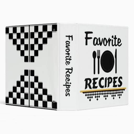 Organize Your Favourite Recipes Binder