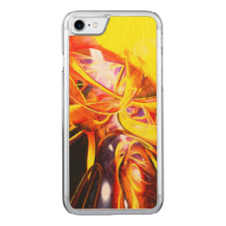 Organized Confusion Painted Abstract Carved iPhone 8/7 Case