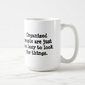 Organized People Coffee Mug