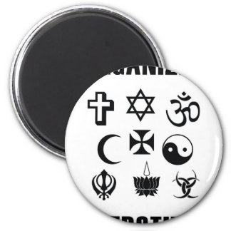Organized Superstition 2 Inch Round Magnet