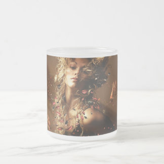 Orgasme 10 Oz Frosted Glass Coffee Mug