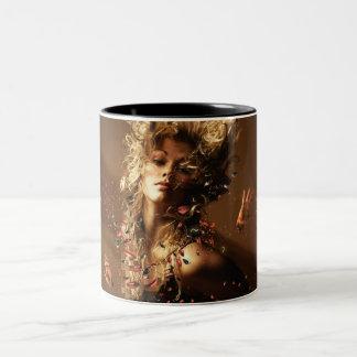 Orgasme Two-Tone Mug