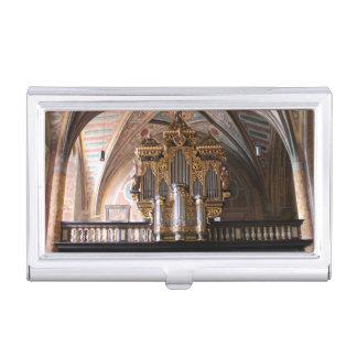 Orgel Pfarrkirche St.Wolfgang am Wolfgangsee Business Card Holder