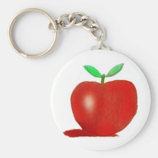 orginal drawing apple keychain