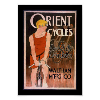 Orient Cycles 1890's Poster