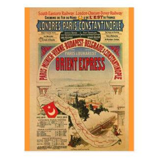 Orient Express Postcard