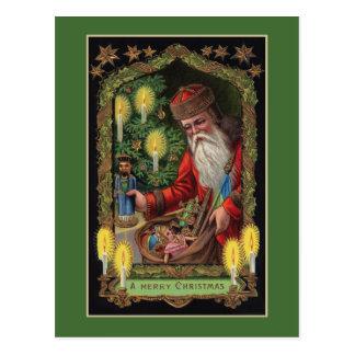 Orient Express Santa Postcard