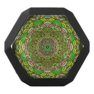 Orient mandala design | Indian motif Black Bluetooth Speaker