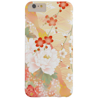 Oriental Accent Japanese Floral Soft Colors Barely There iPhone 6 Plus Case