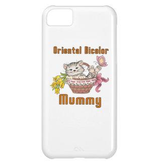 Oriental Bicolor Cat Mom Case For iPhone 5C