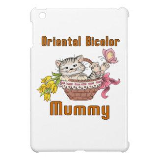 Oriental Bicolor Cat Mom iPad Mini Covers