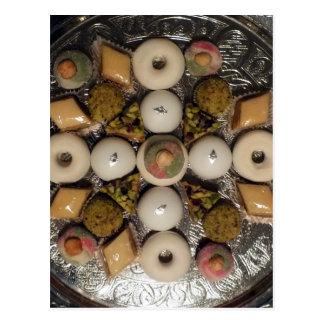 Oriental cakes postcard