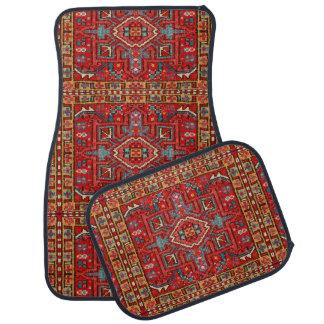 Oriental Carpet Repeating Pattern Photo Print Car Carpet