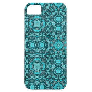 Oriental Carpet: Teal iPhone 5 Cover
