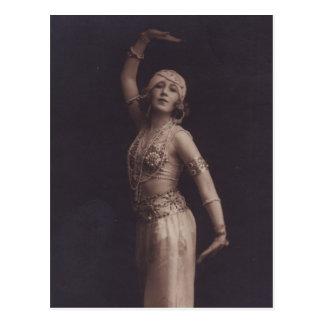 Oriental Dancer Postcard