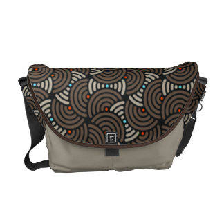 Oriental Deco Artex Messenger Bag