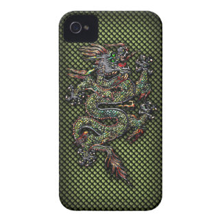 Oriental Dragon #1B iPhone 4 Case-Mate Case