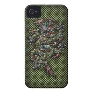 Oriental Dragon #1B iPhone 4 Case-Mate Case
