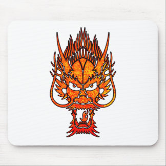 Oriental Dragon Mouse Pad