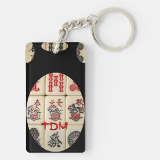 Oriental expression keychain