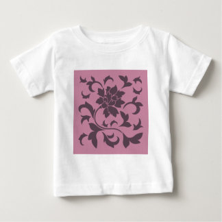 Oriental Flower - Cherry Chocolate & Strawberry Baby T-Shirt
