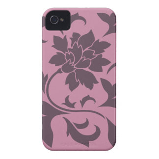 Oriental Flower - Cherry Chocolate & Strawberry Case-Mate iPhone 4 Cases