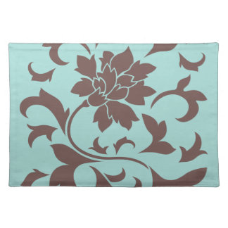 Oriental Flower - Chocolate Limpet Shell Placemat