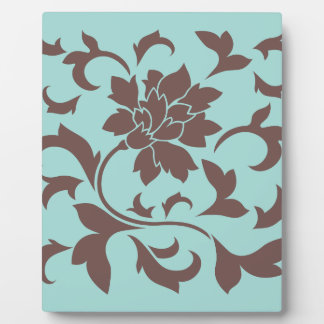 Oriental Flower - Chocolate Limpet Shell Plaque