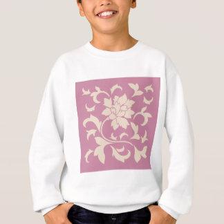 Oriental Flower - Coffee Latte & Strawberry Sweatshirt