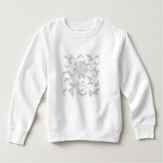 Oriental Flower-Gray Sweatshirt