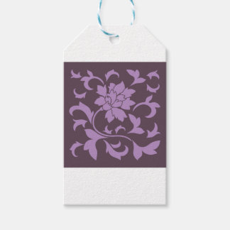 Oriental Flower - Lilac & Cherry Chocolate Gift Tags