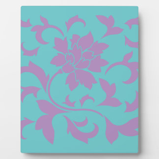 Oriental Flower - Lilac Mint Plaque