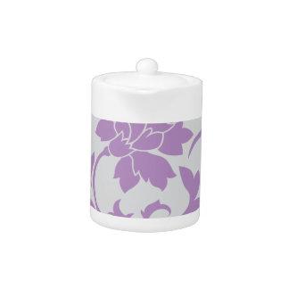 Oriental Flower - Lilac Silver