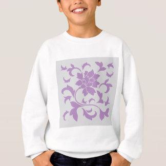 Oriental Flower - Lilac Silver Sweatshirt
