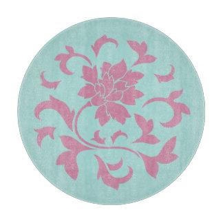 Oriental Flower - Limpet Shell Circular Boards