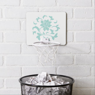 Oriental Flower - Limpet Shell Circular Pattern Mini Basketball Hoop
