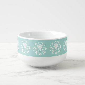 Oriental Flower - Limpet Shell Circular Pattern Soup Mug