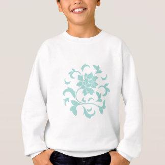 Oriental Flower - Limpet Shell Circular Pattern Sweatshirt