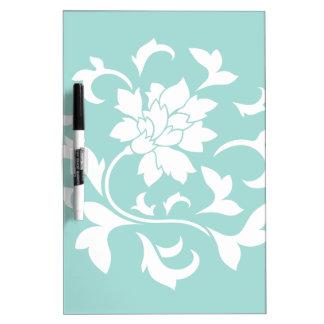 Oriental Flower - Limpet Shell Dry Erase Board