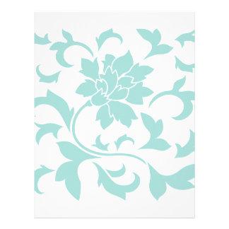 Oriental Flower - Limpet Shell Letterhead