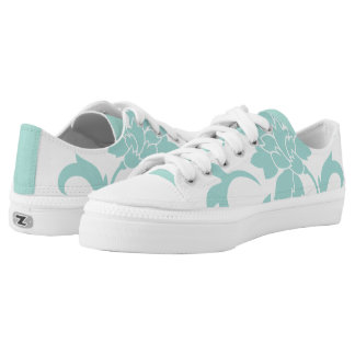 Oriental Flower-Limpet Shell Low-Top Sneakers