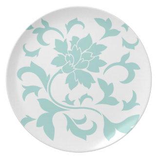 Oriental Flower - Limpet Shell Plate