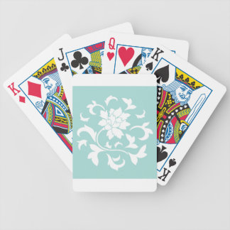 Oriental Flower - Limpet Shell Poker Deck