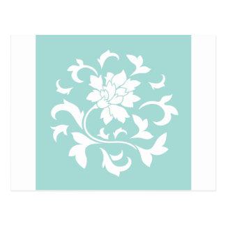 Oriental Flower - Limpet Shell Postcard