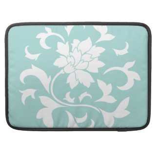 Oriental Flower - Limpet Shell Sleeve For MacBook Pro