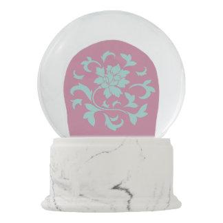 Oriental Flower - Limpet Shell Snow Globe