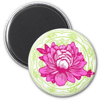 Oriental Flower Magnet