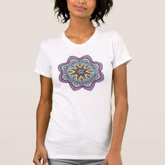 Oriental Flower Mandala T-Shirt